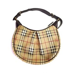 Burberry Hobo shoulder Bag haymarket Check print